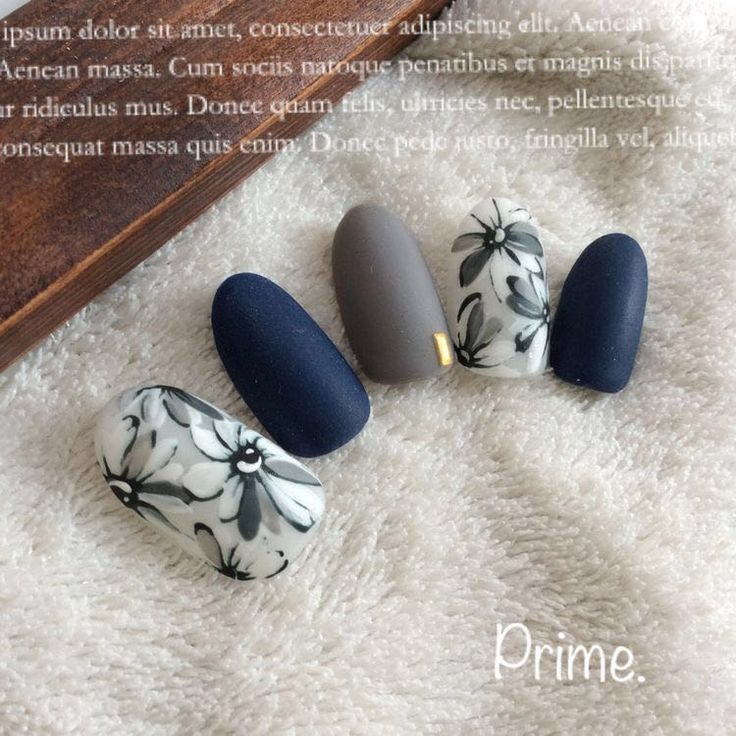 Blue grey matte