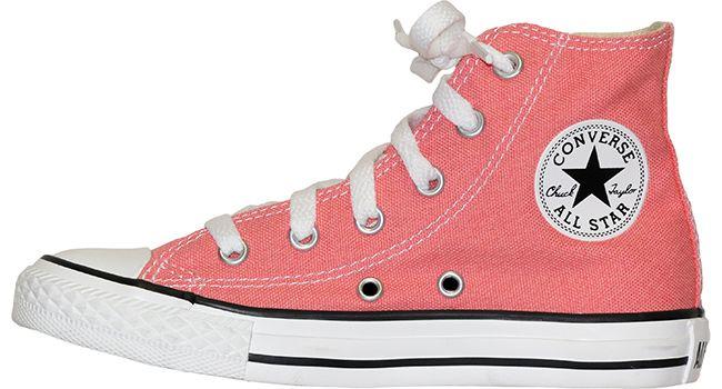 pink converse hightops