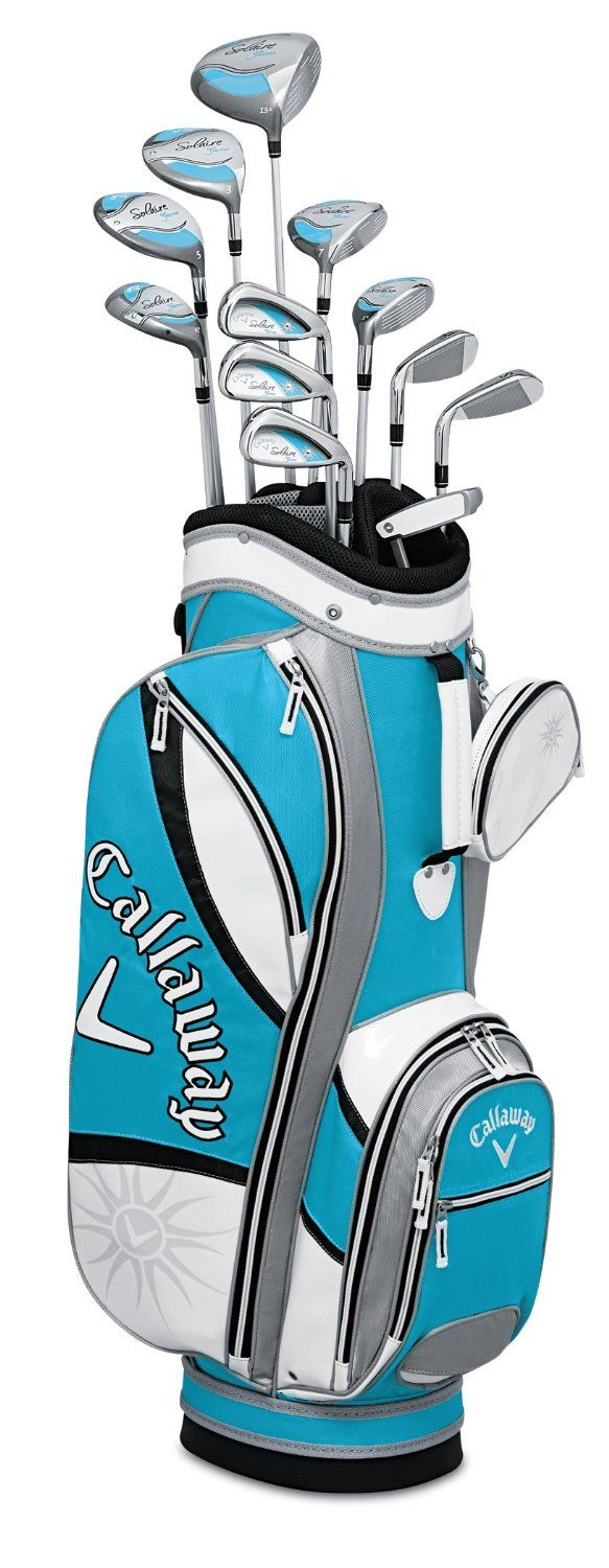 Callaway Womens Solaire Gems 13 Piece Complete Golf Club Sets