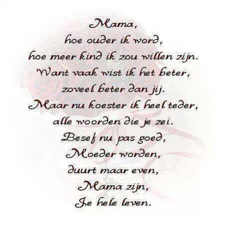 gefeliciteerd mama gedichten