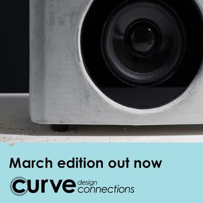 Curve design connections is a new, design-rich monthly web app for iOS and Android devices.   Our March edition features a chair that's a design masterpiece, gesture-controlled speakers and new sports eyewear. Subscribe now for direct access at  http://designconnections.curvelive.com/Subscribe
