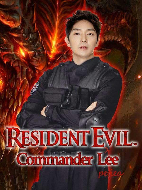 Lee in Resident Evil.