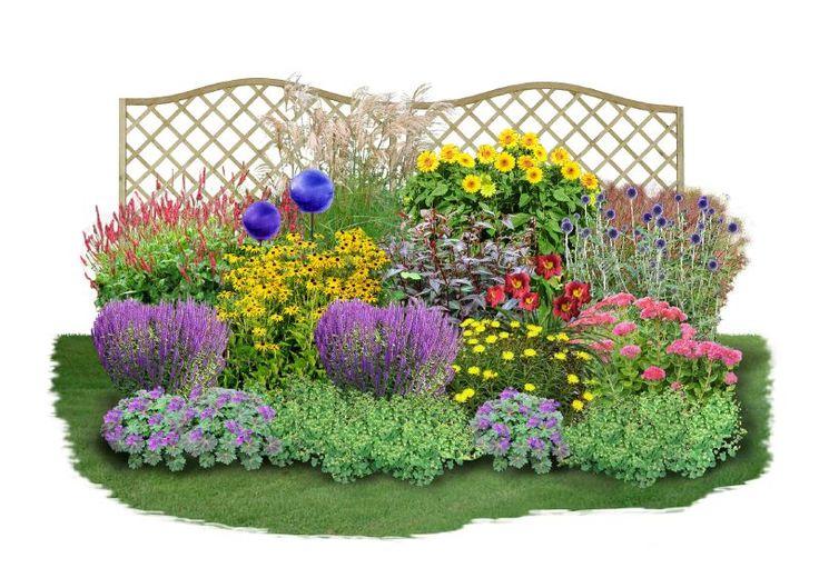 Dieses Beet ist etwas für Einsteiger, die es im Garten gern pflegeleicht und trotzdem farbenfroh haben möchten. Jedes Jahr aufs Neue erfreuen die ausdauernden Stauden und Gräser mit ihren Blüten und sind bis weit in den Herbst...