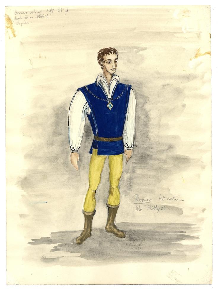 Daphne Dare - Romeo costume design