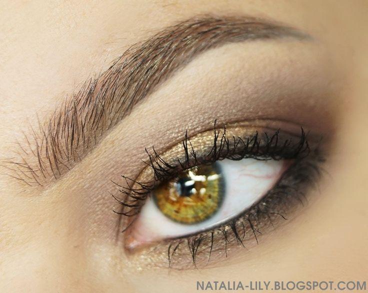 natalia-lily: Beauty Blog: WHAT'S ON MY FACE #4: Jeden z moich dziennych makijaży (usta z Golden Rose, twarz, brwi i oczy w roli głównej Pierre Rene)