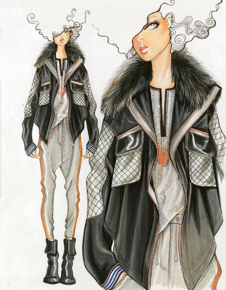Design & Illustration by Paul Keng | Fall 2015 RTW