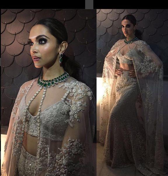 Deepika Padukone In A Beautiful Outfit