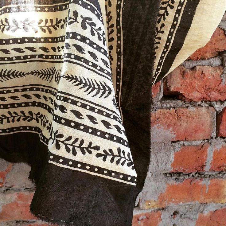"""Soft Indian cotton drying in the Bagru sun.. The borders are printed and drying while the…"""""""