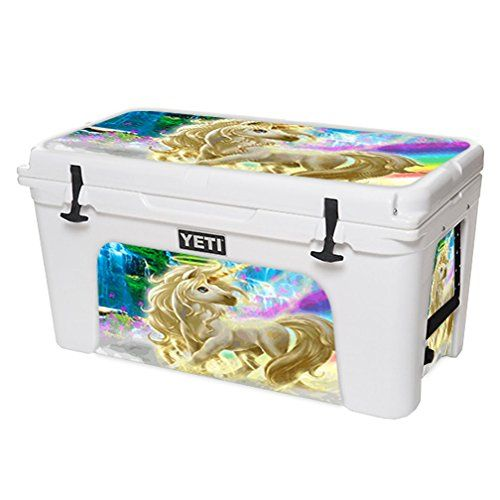 MightySkins Protective Vinyl Skin Decal for YETI Tundra 75 qt Cooler wrap cover sticker skins Unicorn -- Check out this great product.(This is an Amazon affiliate link and I receive a commission for the sales)