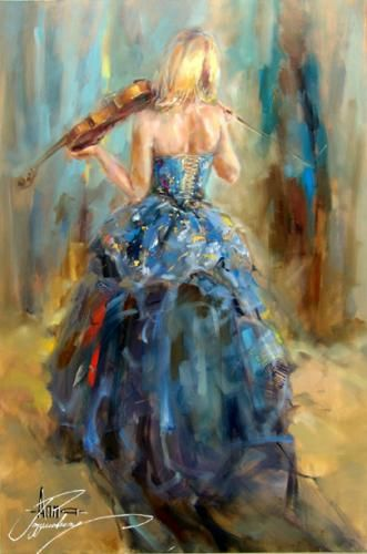 Dancing With A Violin 4