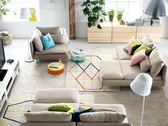 Canapés modulables pour un salon agréable - Ikea : le meilleur des nouveautés 2015 en 30 photos - CôtéMaison.fr