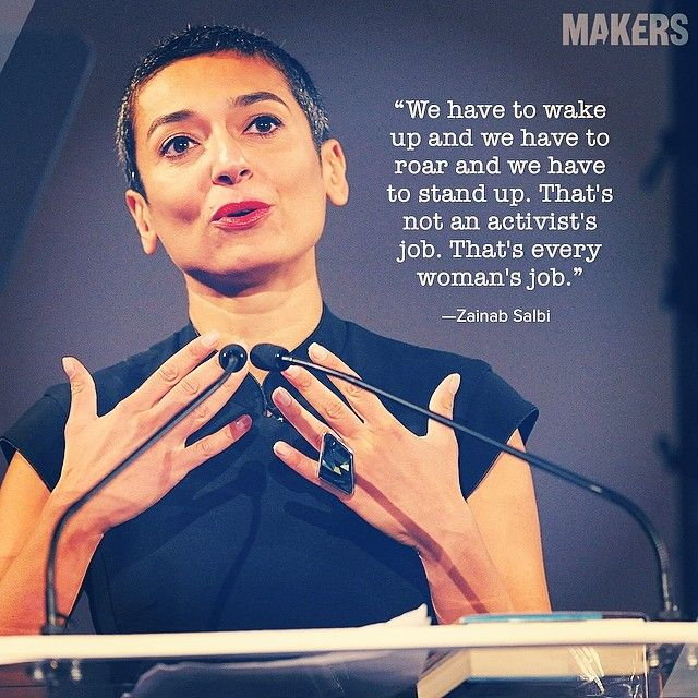 An Iraqi emigré, Zainab Salbi has dedicated her life to her grassroots humanitarian and development organization that helps women brutalized by rape and war, @Women for Women International International.