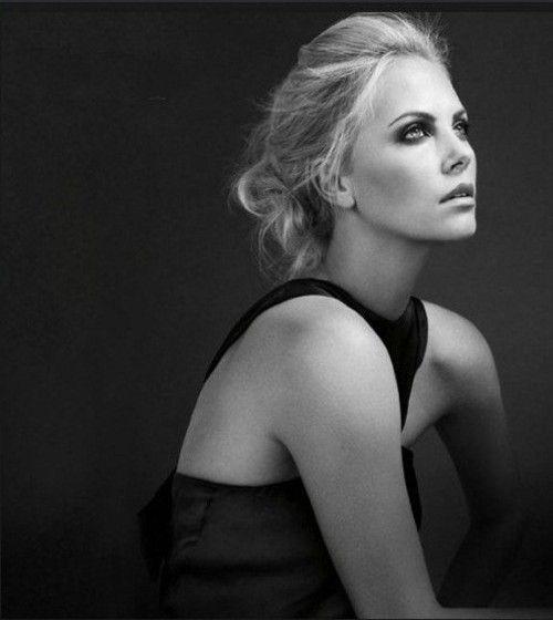 Charlize Theron. Gorgeous.