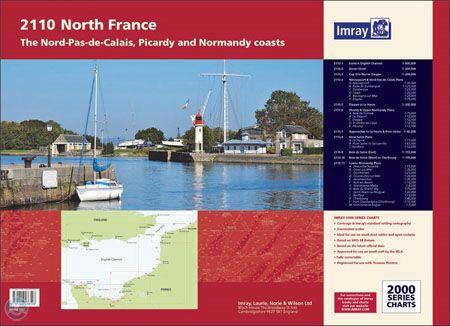 Imray 2110 Kust van Noord Frankrijk