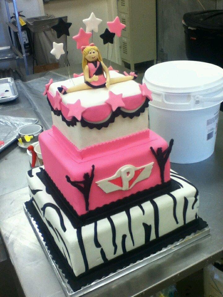 The Cheerleader Cake  Cakes cakepins.com