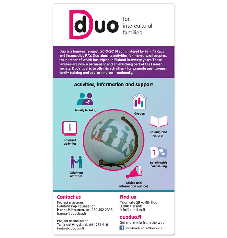 Duo- for intercultural families brochure