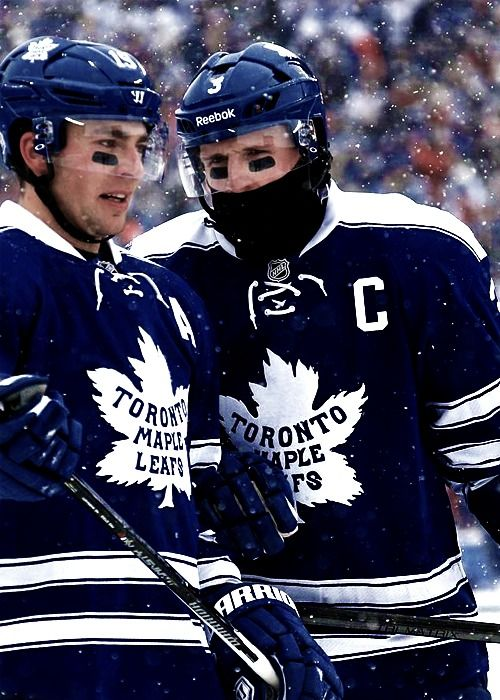 Joffrey Lupul and Dion Phaneuf • Toronto Maple Leafs • Winter Classic 2014 • jamessreimer.tumblr.com