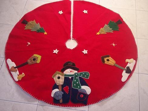 Pie de arbol navideño moldes - Imagui