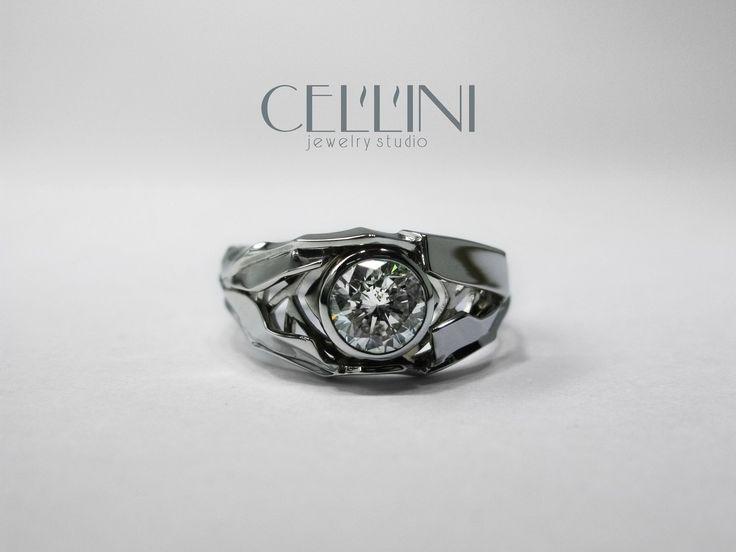 Ring Adamant | Кольцо Адамант White Gold, Diamond.