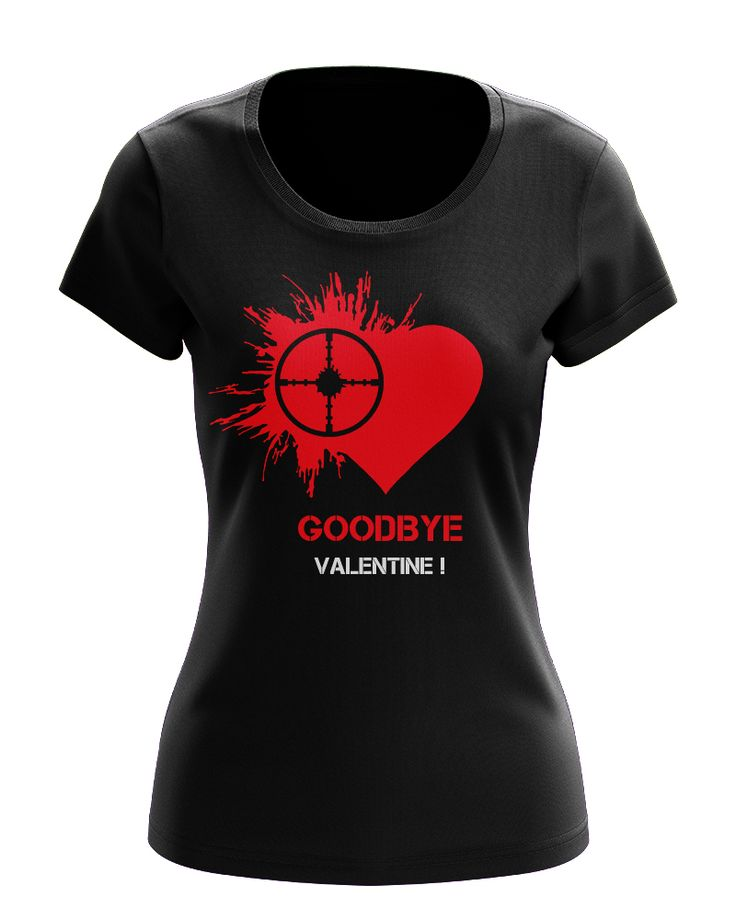 Women's T-shirt, VALENTINE, dámské tričko, VALENTÝN