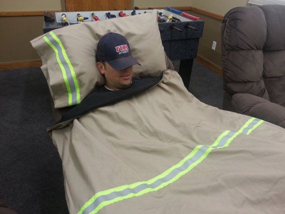 Personalized Firefighter Station Blanket With By