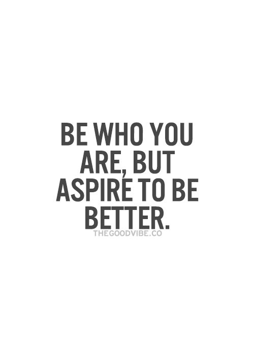 my mantra every single breath i take + every move i make.  YOU are your best competition