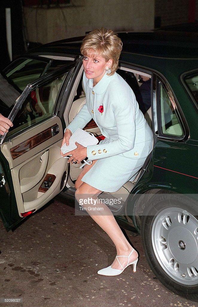 Princess Diana - Arriving @ the 1995 Help The Aged Tunstall Golden Awards @ Hilton Hotel, London - November 1995