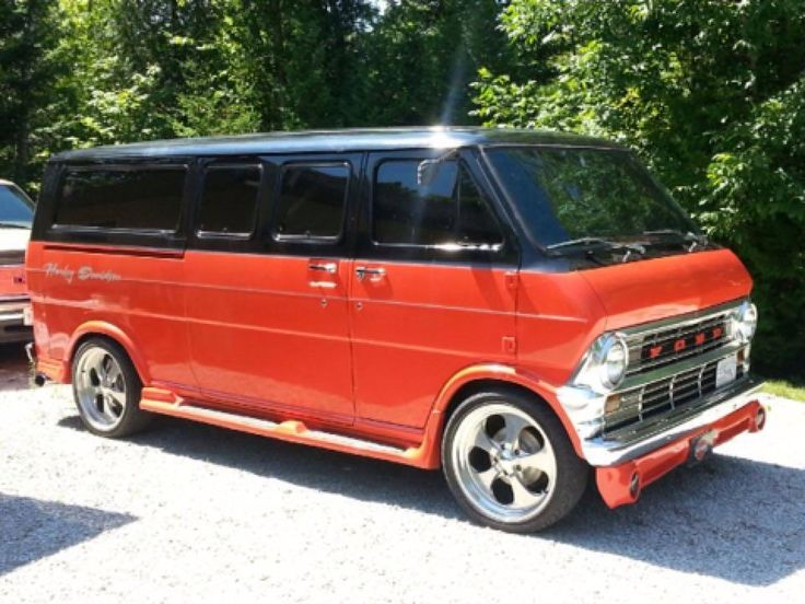 For Sale 1974 Ford Window Van 302 Automatic Rust Free