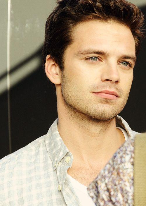 Sebastian Stan I mean, look at those eyes !