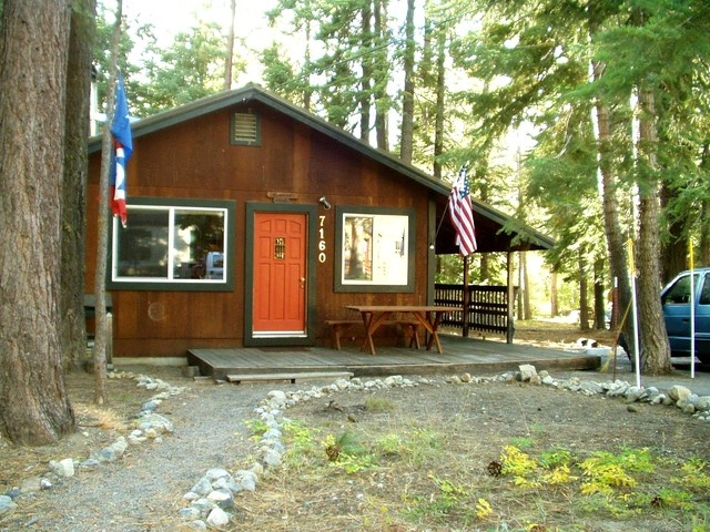 or on the front deck. - Two Morrows Tahoe Cabin on the lake's Westshore - Tahoma - rentals
