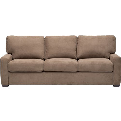 American leather cassidy 3 seater tempurpedic king sleeper for Furniture of america cassidy