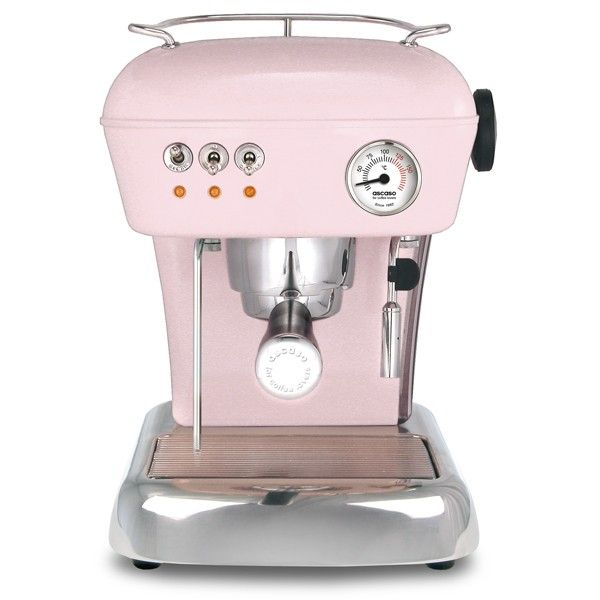 The Dream Ascaso Espresso Coffee Machine In Baby Pink Finish Is Unmistakeable Icon Of For