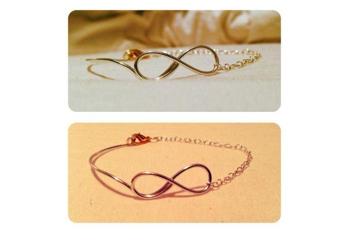 Infinity Bracelet by Elisabeth-Rose on hellopretty.co.za