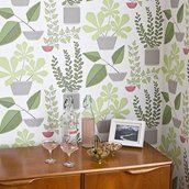 MissPrint House Plants Tapet