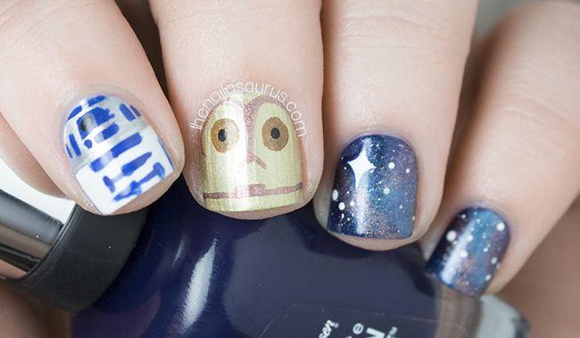 Star Wars Nail Art | The Nailasaurus | UK Nail Art Blog