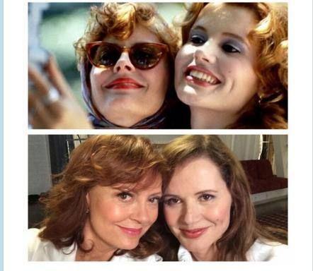 Thelma e Louise di nuovo insieme per un selfie