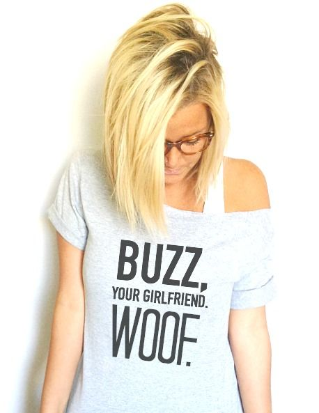 Christmas Tee- Buzz, Your Girlfriend. Woof. #homeAlone