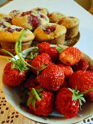 kudy-kam: Jahodové muffiny