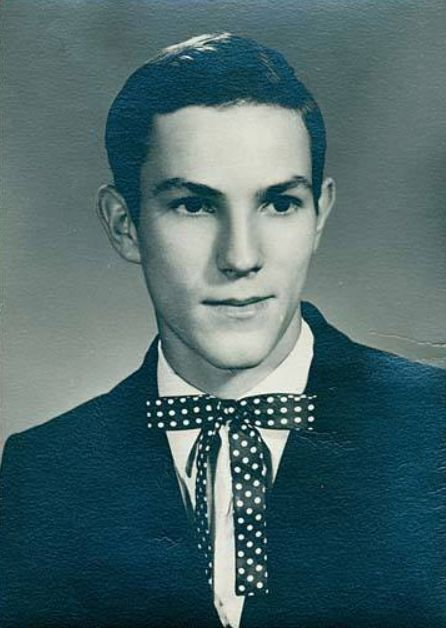 Van Buren High School graduate George Riddle made a name for himself in country music, both as a performer and a DJ. Van Buren Indiana. Photo: Marion Public Library Historic Collection.