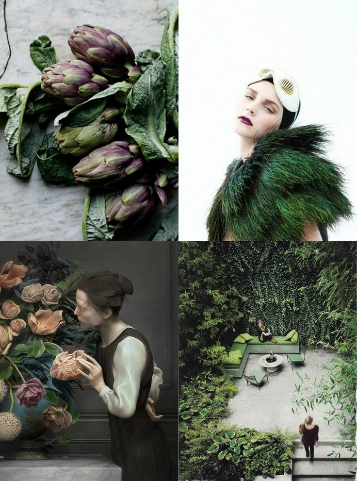 Weekend Moodboard: Into The Wild- Eclectic Trends  #moodboard