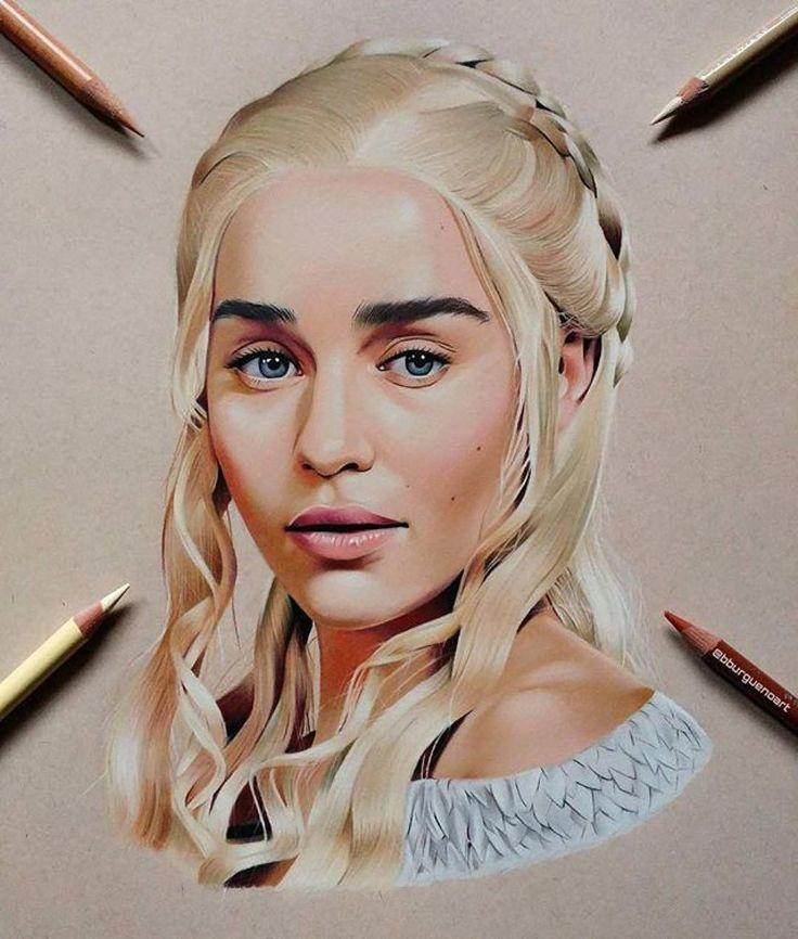 WANT A SHOUTOUT ?   CLICK LINK IN MY PROFILE !!!    Tag  #DRKYSELA   Repost from @bburguenoart   Daenerys Targaryen   Prismacolors and caran d'ache luminace pencils on @strathmoreart toned tan paper. 40 hours. PRINTS are available on my etsy store (link in my bio) ORIGINAL is for sale too (contact me DM). One of my favourite drawings to date  #daenerys #emiliaclarke #gameofthrones #got #assemble_art #artistic_unity#art_worldly#arts_help #worldofpencils#worldofartists#artfido#art_sanity…