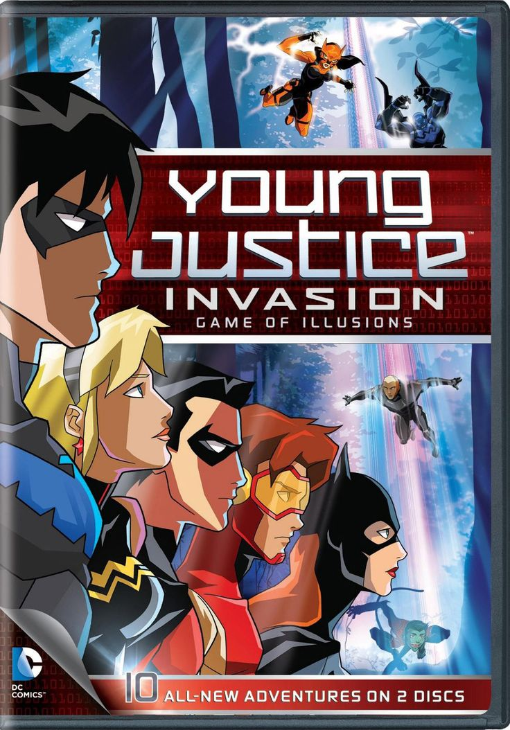 DC Comics Young Justice: Game of Illusions - Season 2 Part 2