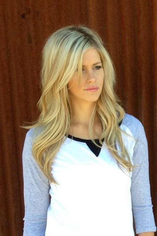 Fantastic 1000 Ideas About Blonde Long Layers On Pinterest Long Layered Short Hairstyles Gunalazisus