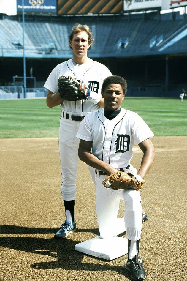 Detroit Tigers greatest short stop & 2nd baseman, Alan Trammell and Lou Whitaker.  VOTE ALAN TRAMMELL AND LOU WHITAKER INTO THE HALL OF FAME!!!!! <3