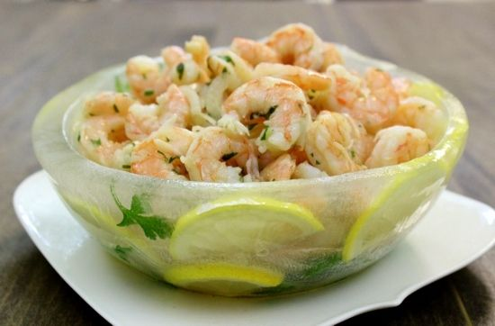 Get ready to WOW your guests with this incredible shrimp appetizer. Served in a gorgeous ice bowl, it's sure to be the talk of the table. Not only is this bowl absolutely stunning, it also keeps the shrimp nice and cold. It's so EASY to make too. The shrimp is a Taste of Home recipe that I've …