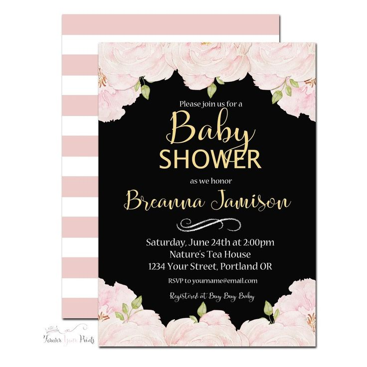 200 best Baby Shower Invitations | Forever Your Prints images on ...