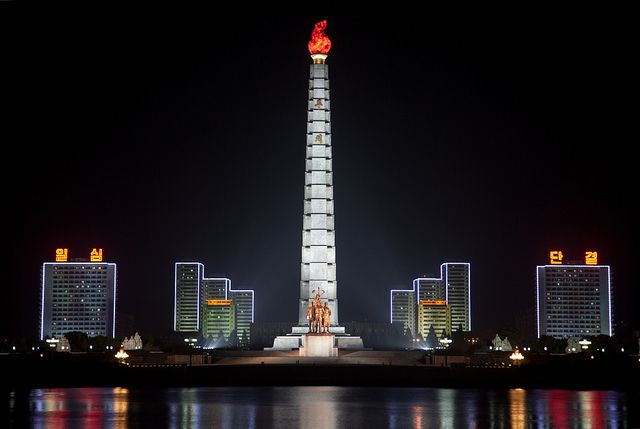 pyongyang - yes i know that there is a war going on between north and south koreas