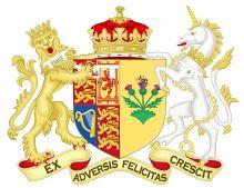 Coat of Arms of Sarah, Duchess of York, 1986-1996