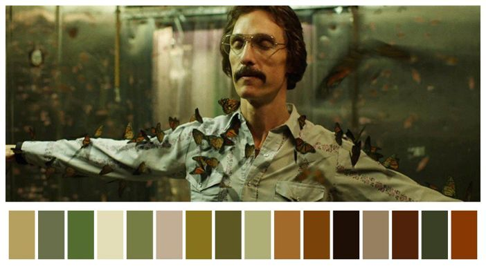 Dallas Buyers Club (2013)  Director: Jean-Marc Vallée Cinematography: Yves Bélanger