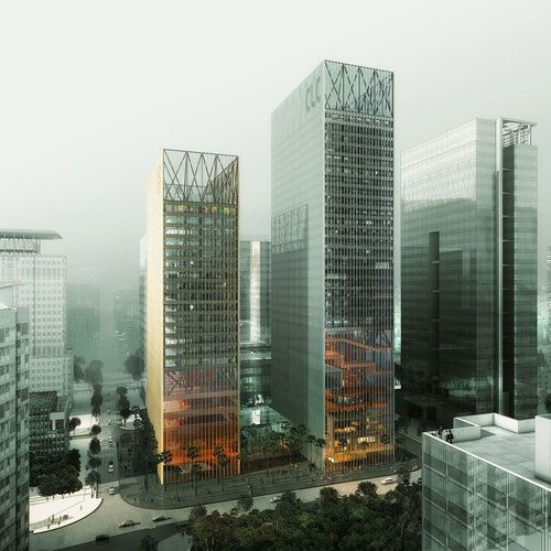 The Resulting Towers Combine The Clientsu0027 Desire To Project The Image Of  Elegance, Responsibility